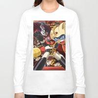 manga Long Sleeve T-shirts featuring Manga 07 by Zuno