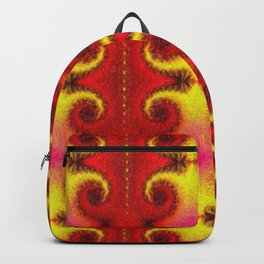 HB-099 Colorfull Abstract Pattern Backpack