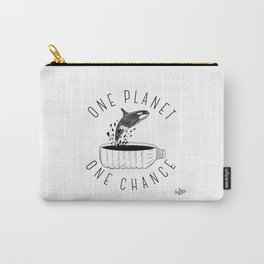 One Planet, One Chance Carry-All Pouch