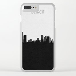 City Skylines: Detroit Clear iPhone Case