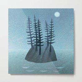Pine Island Metal Print