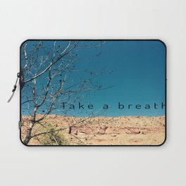Take a Breath Laptop Sleeve