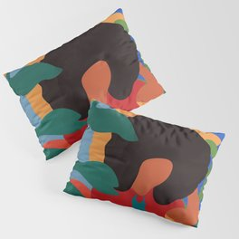 Get lost in nature and you will find yourself  #art print #abstract art Pillow Sham