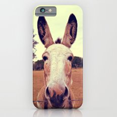 a curious donkey. iPhone 6s Slim Case