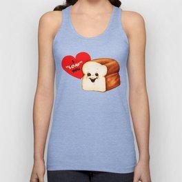 Valentine- Bread Unisex Tank Top