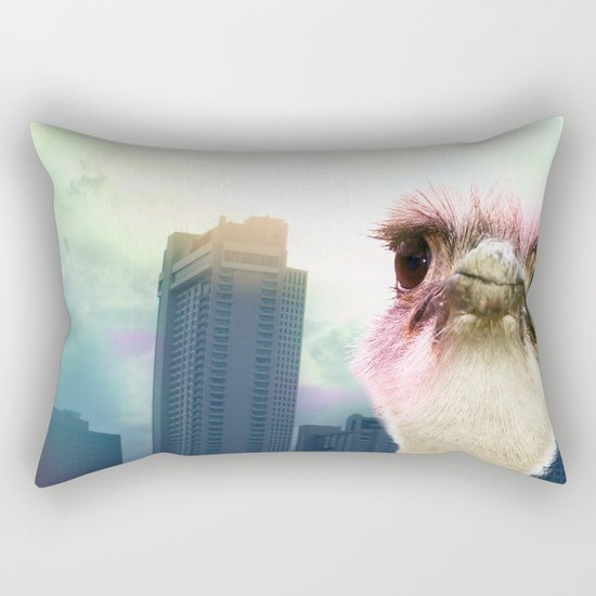 Ostracized in the City Rectangular Pillow