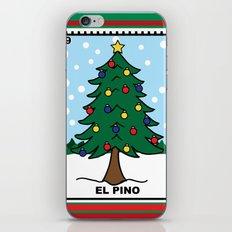 Christmas Loteria El Pino iPhone & iPod Skin