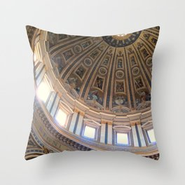 Don't Look Down. Throw Pillow