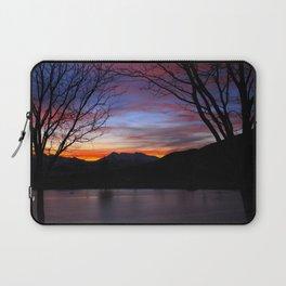Sunrise on the Lake Laptop Sleeve
