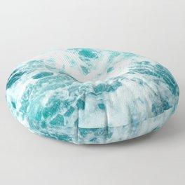 Ocean Sea Waves Floor Pillow