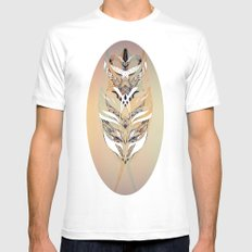 Mirror Mirror Mens Fitted Tee White MEDIUM