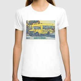 Back to School - The Yellow School Bus T-shirt