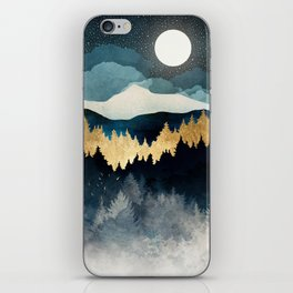 Indigo Night iPhone Skin