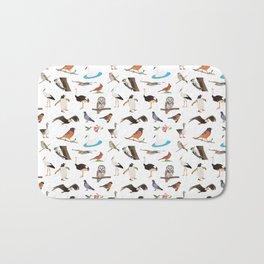 Various Birds Bath Mat