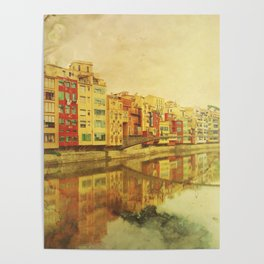 The river that reflects the city Poster