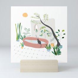 Garden in Bali Mini Art Print