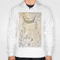alice wonderland Hoodies featuring Wonderland  by Jgarciat