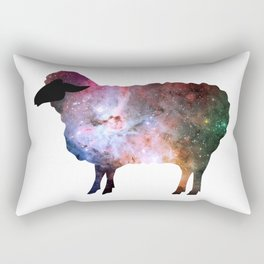 Psychedelic Sheep of the Family (2) Rectangular Pillow