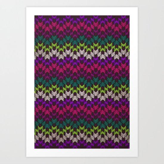 Mummy's Sweater Art Print