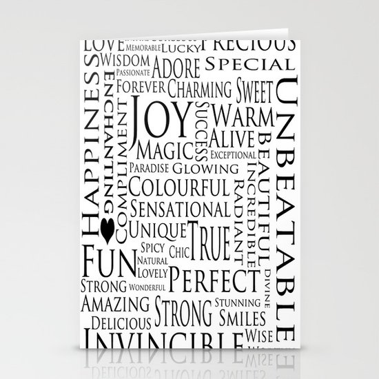 You Are All Of This And More!. Stationery Cards