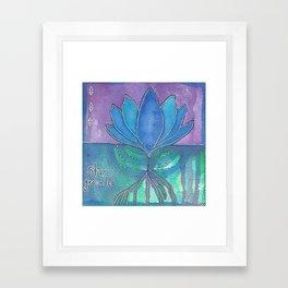 Stay Grounded Framed Art Print