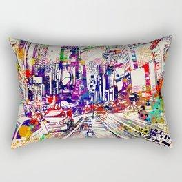New York times square 2 Rectangular Pillow
