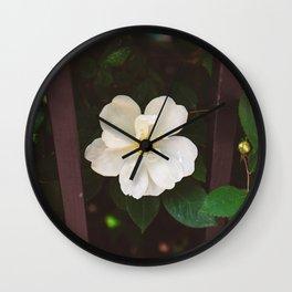 Manhattan Bloom Wall Clock