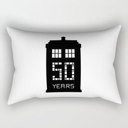 dr who 50 th Rectangular Pillow