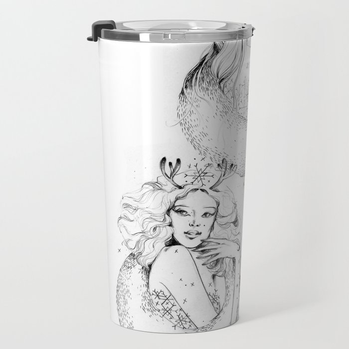 Christmas Fairies Travel Mug