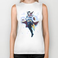 enerjax Biker Tanks featuring Doctor Strange by enerjax