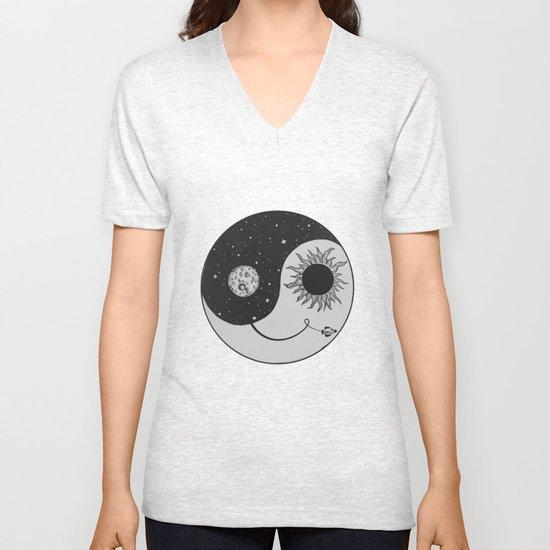 Moonrise Unisex V-Neck