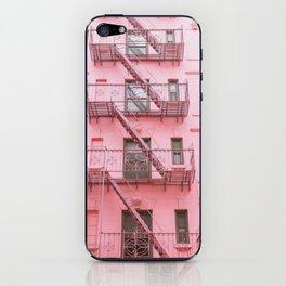 Pink Soho NYC iPhone Skin