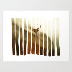 Tail Fin Art Print