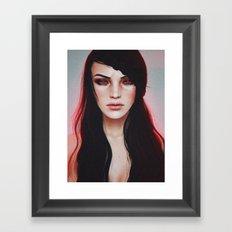 fury. Framed Art Print