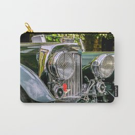 1930's Aston Martin Carry-All Pouch