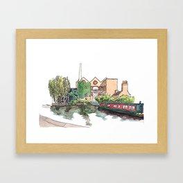 Regent Canal Framed Art Print