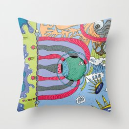 use your imagination Throw Pillow