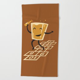 Hop-Scotch Beach Towel