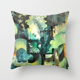 Sleeping to dream. Throw Pillow