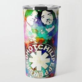 The Chili Peppers Grunge Travel Mug