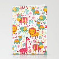 wildlife Stationery Cards featuring Wildlife by One April