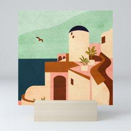 Reimagining Santorini 3 Mini Art Print