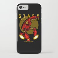 iron giant iPhone & iPod Cases featuring Giant Iron Man by harebrained