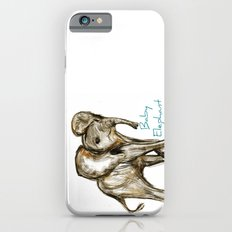 Baby Elephant Blue Slim Case iPhone 6