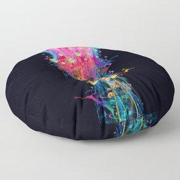 Super Electric Jellyfish Floor Pillow