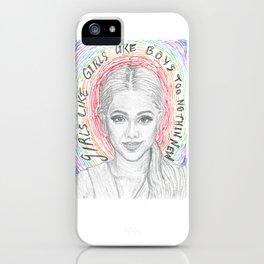 Hayley Kiyoko Girls Like Girls iPhone Case