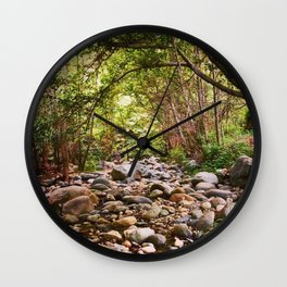 Dry Creek Bed on the West Fork Wall Clock