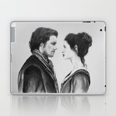 Jamie and Claire ~ Outlander Laptop & iPad Skin