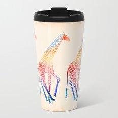 Watercolor Giraffe Travel Mug