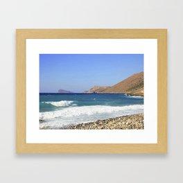 Crete, Greece 7 Framed Art Print